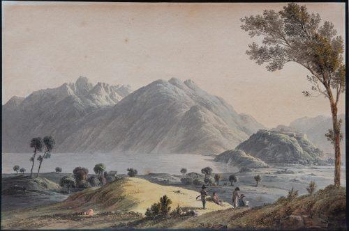 Rebell, Joseph: Lago di Como, 1811