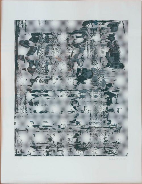 Richter, Gerhard: Graphit, 2005
