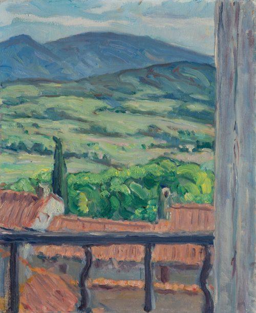 Louis Süe: Blick in die Landschaft