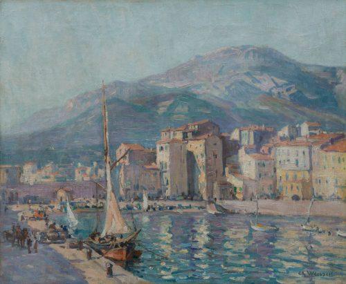 Charles Louis Weisser: Französischer Hafen